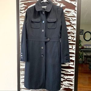 EUC Kenneth Cole Trench Wool Jacket. Size 4
